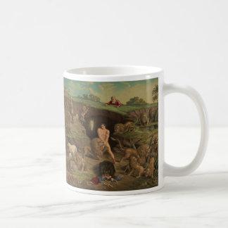 ライオンの洞穴(1877年)の12の誘惑ダニエル コーヒーマグカップ