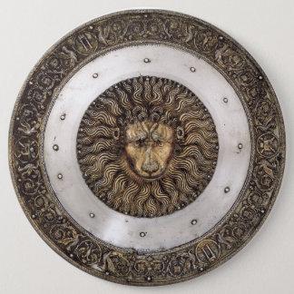 ライオンの盾 缶バッジ