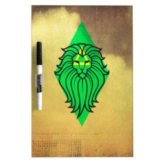 ライオンの芸術のデザイン ホワイトボード