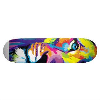 ライオンの芸術の完全なスケートボード スケボー