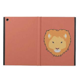 ライオンの茶色のipadの箱 iPad airケース