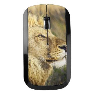 ライオンの野生動物の野性生物のサファリ ワイヤレスマウス