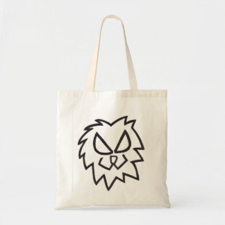 ライオンの頭部のバッグ トートバッグ
