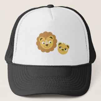 ライオンの頭部 キャップ