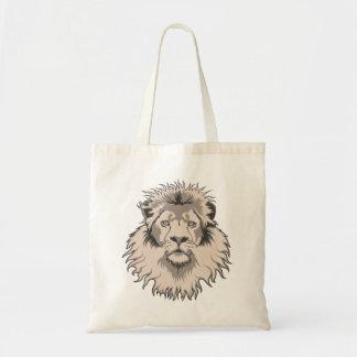 ライオンの頭部 トートバッグ