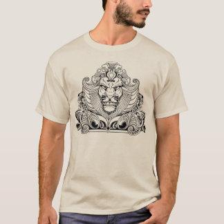 ライオンの頭部 Tシャツ