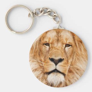ライオンの顔の写真 キーホルダー