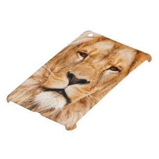 ライオンの顔の写真 iPad MINIケース
