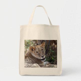 ライオンの顔 トートバッグ