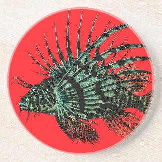 ライオンの魚のコースター コースター