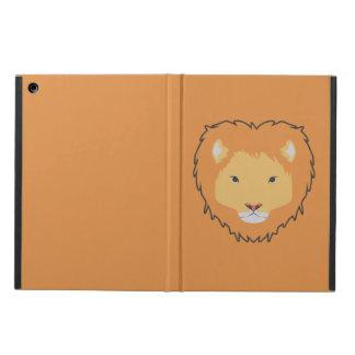 ライオンの黄色いipadの箱 iPad airケース