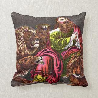 ライオンの` sの洞穴の枕のダニエル クッション
