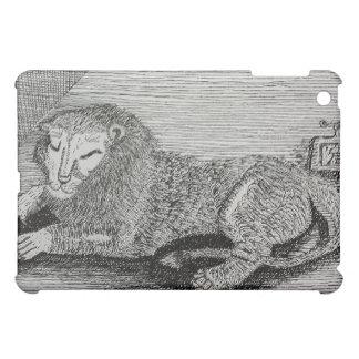ライオンのIPadの場合 iPad Miniケース