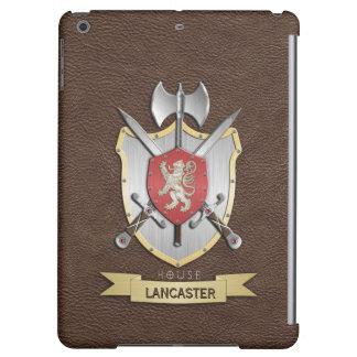 ライオンのSigilの戦いの頂上ブラウン iPad Airケース