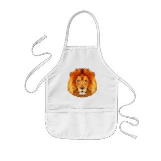 ライオンはエプロン多デザインを低くからかいます。 ライオン 子供用エプロン