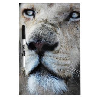 ライオンは私の心拍に聞きます ホワイトボード
