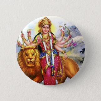 ライオンを持つ女神Durga 缶バッジ