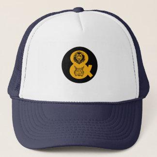 ライオン及びオオヤマネコのロゴ キャップ