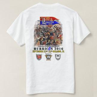 ライオン及びヒョウのイベントのワイシャツ Tシャツ