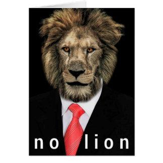 ライオン無し カード