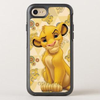 ライオン王三角形パターンの  Simba オッターボックスシンメトリーiPhone 8/7 ケース