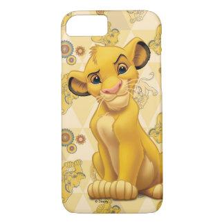 ライオン王三角形パターンの| Simba iPhone 8/7ケース