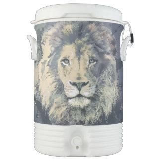 ライオン王|のカスタムなイグルーのベバレッジクーラー ドリンククーラー