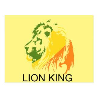 ライオン王 ポストカード