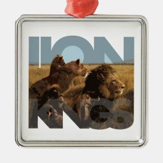 ライオン王 メタルオーナメント