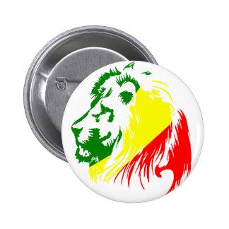 ライオン王 5.7CM 丸型バッジ