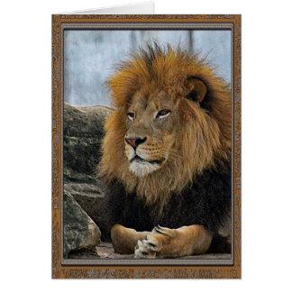 ライオン6880のバースデー・カード カード