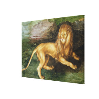 ライオン キャンバスプリント