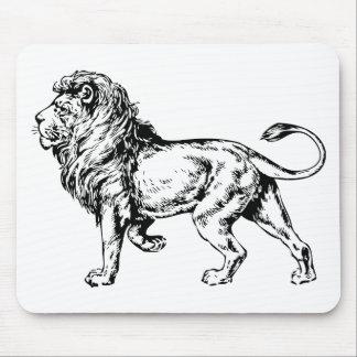 ライオン-ジャングルの王 マウスパッド