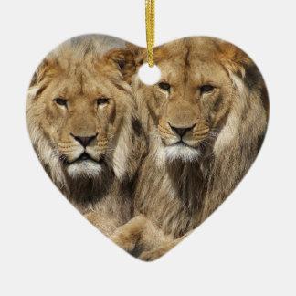 ライオン セラミックオーナメント