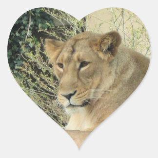 ライオン ハートシール