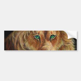 ライオン バンパーステッカー