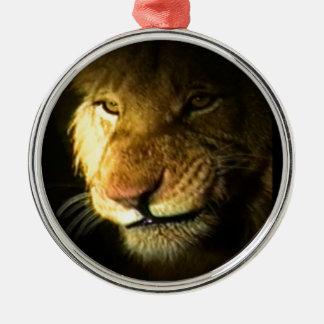 ライオン メタルオーナメント