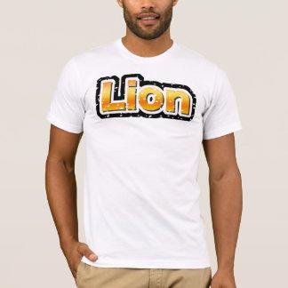 ライオン(傷つく) Tシャツ