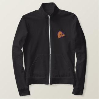 ライオン 刺繍入りジャケット