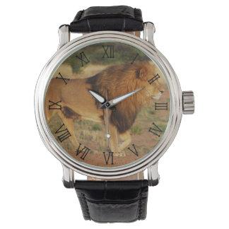 ライオン 腕時計