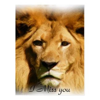 ライオン、Courage_ ポストカード