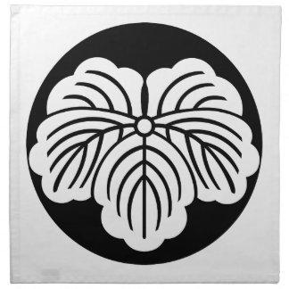 ライスケーキのキヅタの葉 ナプキンクロス