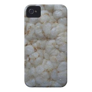 ライスケーキ、健康な食糧、白い軽食 Case-Mate iPhone 4 ケース