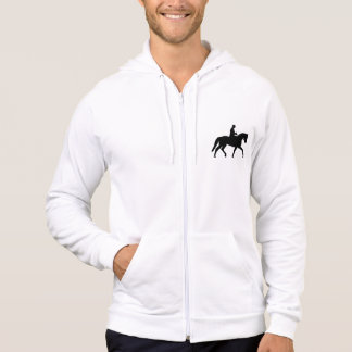 ライダーを持つ大切な馬場馬術の馬 パーカ