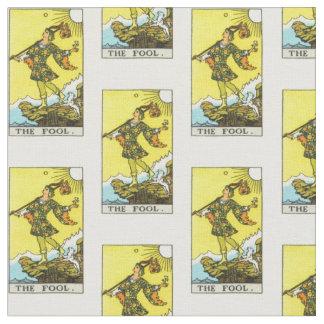 ライダーWaiteのタロットの愚か者カード ファブリック