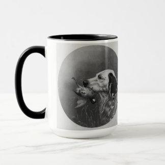 ライチョウの陶磁器のマグを持つセッター マグカップ