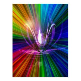ライトおよびエネルギーは魔法2です ポストカード