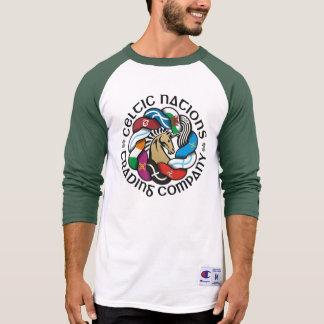 ライトのためのCeltic Nations Trading Companyの旗 Tシャツ