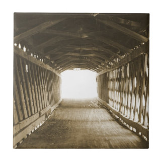ライトのトンネル タイル