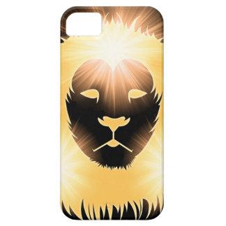 ライトのライオン iPhone SE/5/5s ケース